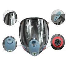 Für 3M 6800 Atemschutz mit Filter Vollmaske Gasmaske Staubmaske Lackiermaske NEU