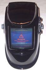 Large View Auto Darkening Welding Helmet Adj Shade Delay Amp Sensitivity Black