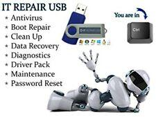 Hiren's version 16.3 Boot CD USB Computer Repair Recovery Win 7,8,Vista & XP,10;