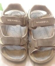 MERRELL - Sandali da bambino - colore beige - N° 29 - con velcro - USATI