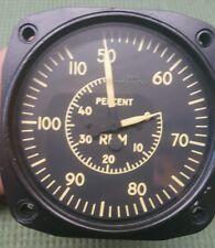 Gas turbine jet engine n1 tachometer indicator gauge percent speed