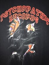 Vtg 90-2000s Insane Clown Posse Psychopathic Records Rap Hip Graphic Tee Shirt