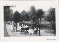 "*Postcard""The Zoo"" ...People ride-enjoy Goat-Carts"" @  Philadelphia, Pa.  (#52)"