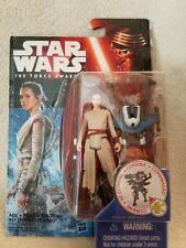 "Star Wars REY (Starkiller Base)  The Force Awakens  3-1/2"" Action Figure"