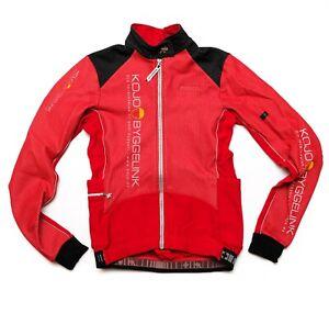 Assos Airblock 851 cycling jacket winter,sz S, red, mens
