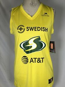 WNBA Sue Bird Seattle Storm Fanatics 2019 Women's Basketball Jersey Youth XL NWT