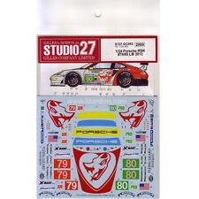 Studio27 ST27-DC953 Porsche RSR #79/80 LM 2012 Decal for Fujimi 1/24