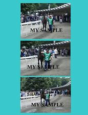 """3 Giacomo 2005 Belmont Stakes Horse Racing 8"""" by 10"""" Photos #1"""