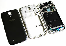 Genuine OEM Samsung Galaxy S4 i9500 Housing Cover Frame Door Back Case Black