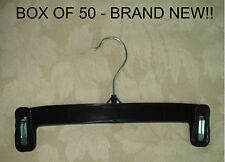 """50 Hangers 12"""" Brand New-Ideal for skirts,pants,shorts"""