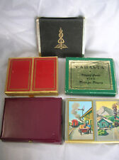 VINTAGE PLAYING CARDS (5 BOXES OF 2 DECKS EACH)
