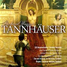 CD Tannhäuser von Richard Wagner 3CDs mit Chor der Bayreuther Festspiele