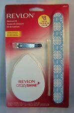 Revlon Manicure Kit - Buffer, Nail Clip, Nail Shaper & Orange Stick