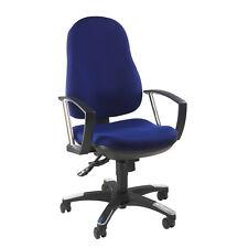 Bürostuhl Schreibtischstuhl Drehstuhl Trend SY blau Armlehnen B-Ware 2.Wahl