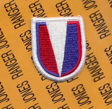 US Army 20th Engineer Brigade Airborne beret flash patch #2 style m/e