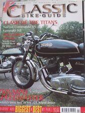 Classic Bike Guide 02/03 Triumph Speedmaster, Norton Commando vs Kawasaki H2 etc