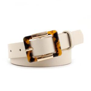 Waistband Belts Leopard Buckle Pin Buckle Belt Fashion Jeans Belt Leather Belt