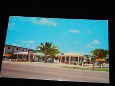 Vintage Postcard, MIAMI, FLORIDA, FL, Street View Miami  Palms Motel, To CT,1960