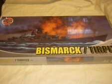 Airfix factory sealed / un opened / un made plastic kit of Bismarck / Tirpitz