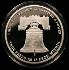 """1 oz Proof #3 in /""""Monumental Truth/"""" Series 2017 Silver Shield LIBERTY BELL"""