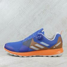Mens Adidas Terrex Two BOA Blue/Orange Trainers (TGF54) RRP £99.99