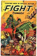FIGHT COMICS-#84 1952- Fiction House Golden Age War FN