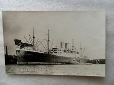 AK Passagier Schiff ALBERT BALLIN Hafen Hamburg Amerika Linie 1930 Schlepper