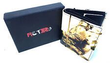 Boxing Quality Leather Retro Wallet Tri-fold Style New by Golunski