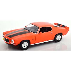 Chevrolet Camaro Z28 1971 Orange 1/18 - 31131 MAISTO