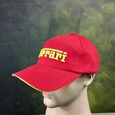 Ferrari Officially Lisenced Formula 1 Racing Hat Cap 100% Cotton NWT