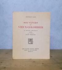 THEATRE REPETITIONS CROQUIS D'ACTEURS BERTHOLD MAHN SOUVENIRS DU VIEUX-COLOMBIER
