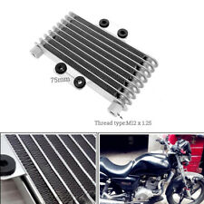 Engine Aluminum Oil Cooler Cooling Radiator Motorcycle Bike Fit for 125CC-250CC