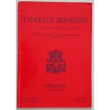 Tableaux modernes Me Blache Commissaire-priseur vente du 18 06 1980 / Réf4285