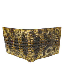 Unique Genuine Alligator Crocodile Skin Leather Men's Bifold Wallet #3