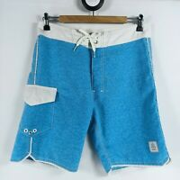Billabong Mens Size 30 Platinum Recycler Hydrostretch Boardshorts Long BlueWhite