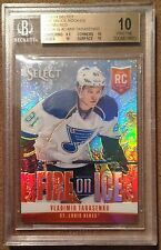 2013-14 Select Vladimir Tarasenko Fire On Ice RC 09/25 Graded BGS 10 Pristine