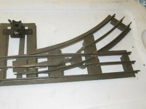 LIONEL PRE-WAR  EARLY STANDARD GAUGE LEFT HAND MANUAL SWITCH - FAIR - L216