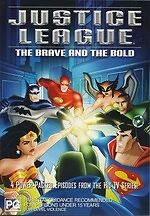Justice League: The Brave and the Bold * NEW DVD * Green Lantern Flash animated