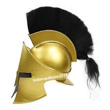 Armor King Leonidas 300 Spartan Helmet One Size - Antique Brass