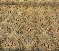 PK Upholstery Chenille Madison Chutney Damask Fabric By The Yard