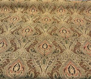PK Upholstery Chenille Madison Chutney Damask Fabric By The Yard