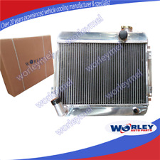 For TOYOTA COROLLA radiator KE10 KE11 KE15 Manual 56mm aluminum