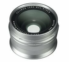FUJIFILM Wide Conversion Lens WCL-X100 II for X100/X100S/X100T/X100F Silver