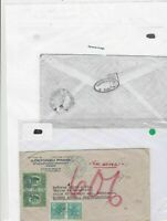 Brazil to buenos aires airmail 1932 stamps cover Ref 9647