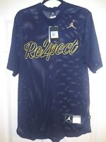 Jordan Men's Size Medium Nike Re2pect Baseball Training Jersey