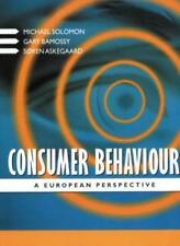 Consumer Behaviour: A European Perspective By Michael R. Solomo .9780137519835