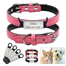 Personalisiert Hundehalsband Mit HUNDEMARKEN Garvur Hund Name Verstellbar XS S