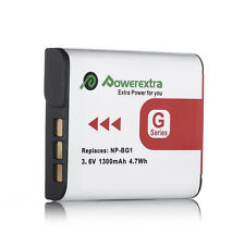 1300mAh NP-BG1 Type G Battery for Sony W Series DSLR Camera NPBG1 NP-FG1
