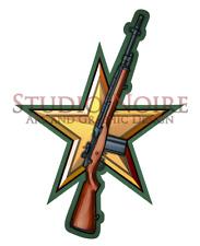 M14 Rifle Army Modern Warfare Military Rifle Vinyl Decal Sticker