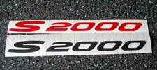 Honda S2000 Sticker/Decal 200mm x18mm